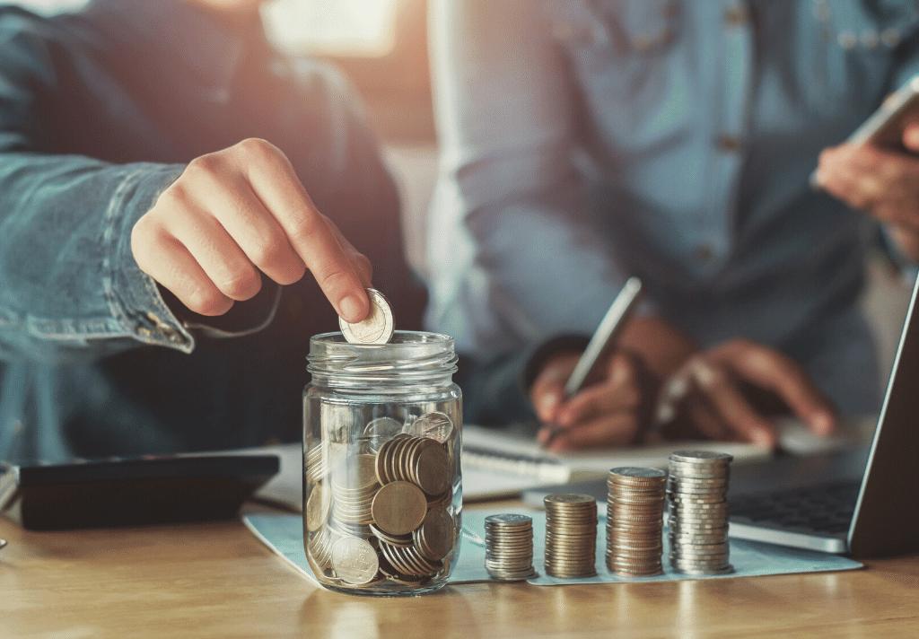 Money budget part time business